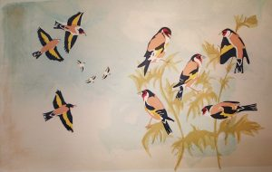 Goldfinches 2